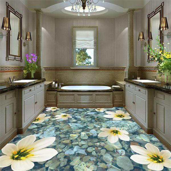 Beautiful 16X16 Ceiling Tiles Thin 2 Hour Fire Rated Ceiling Tiles Regular 24X48 Ceiling Tiles 3 X 6 Subway Tile Youthful 3 X 9 Subway Tile Red3D Glass Tile Backsplash 3D Flooring: Good Or Bad Interior Design Trend \u2013 Design Swan