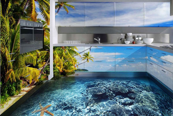3D Flooring: Good or Bad Interior Design Trend