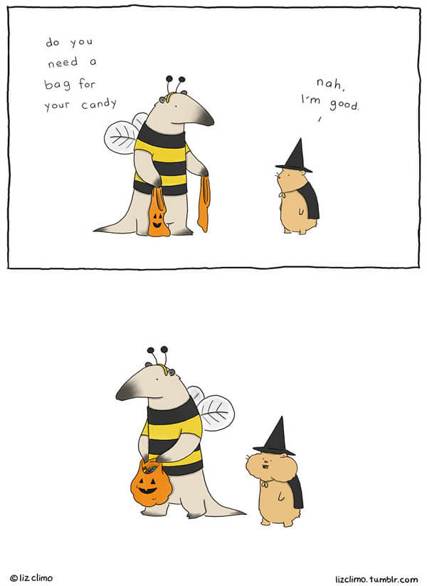 What Animals Would Do If They Celebrated Halloween As We Do