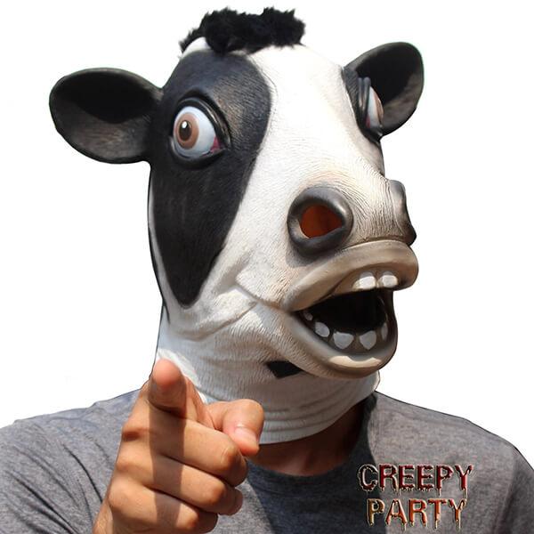 10 Creepy and Hilarious Animal Masks