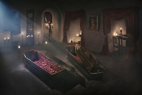 Halloween Night at Dracula's Castle in Transylvania?