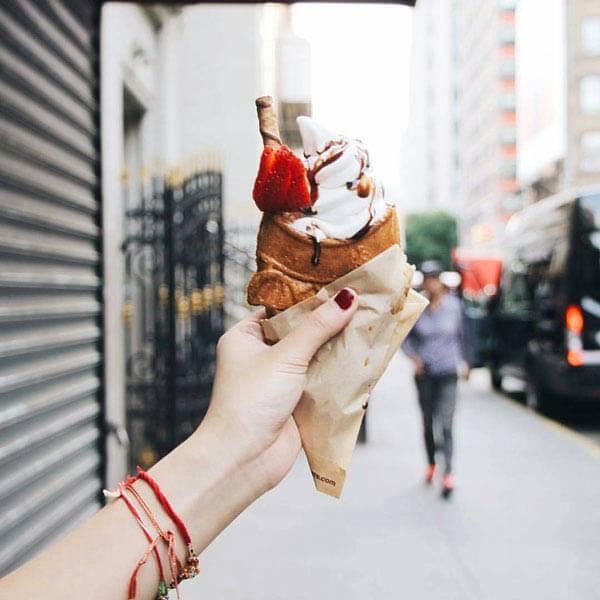 Taiyaki Icecream: Adorable Fish-shaped Icecream Cone