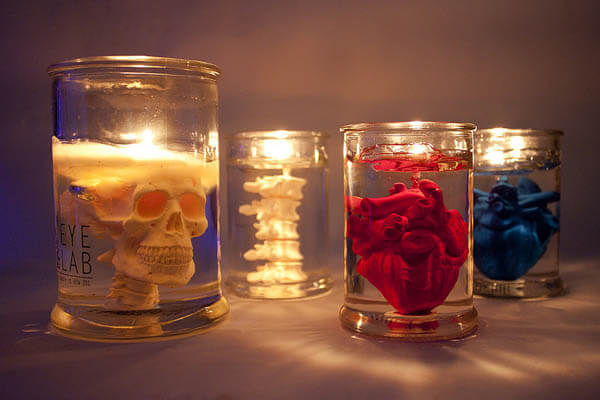 10 Creepy but Cool Candles and Candle Holders top Spice Your Halloween Party Up
