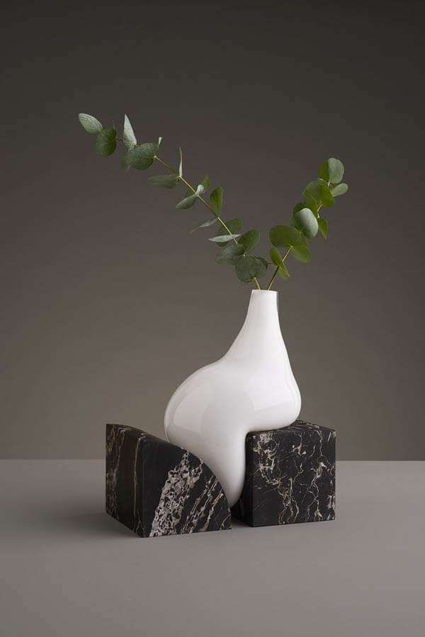 Unusual Glass Vases By Studio Eo Look Like Melting Atop Cut Stone