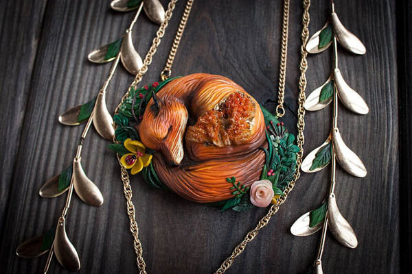 Fantasy Animal Jewelry Created Based on Ancient Legends and Myths