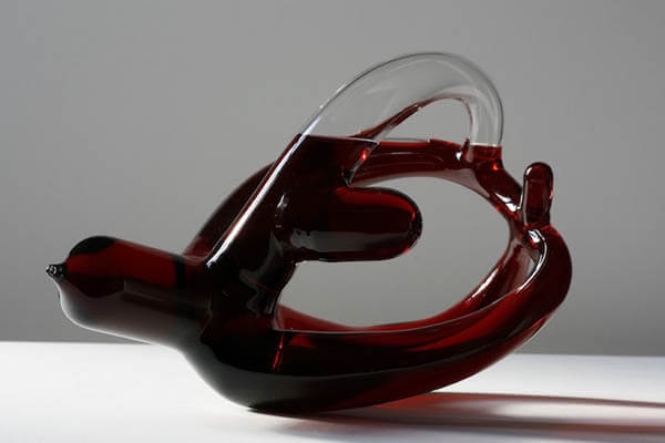 Strange Decanters: Hand-blown Exquisite Wine Decanters by Etienne Meneau