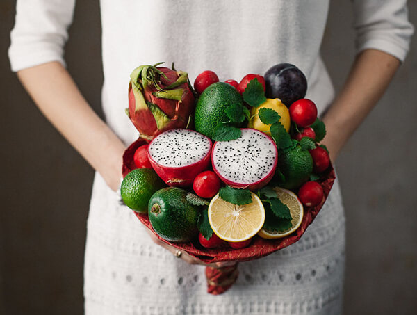 One-Of-A-Kind Bouquets Made out of Food
