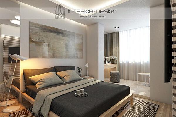 Elegant Neutral Style Apartment in Ukraine