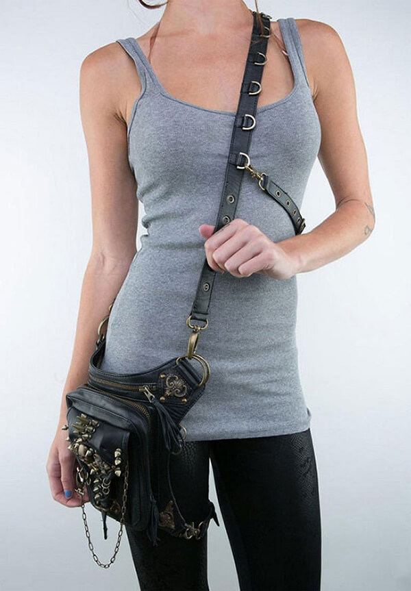 Badass Steampunk Style Waist Bag