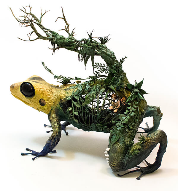 Half Animal Half Plant: Surrealist Sculptures by Ellen Jewett