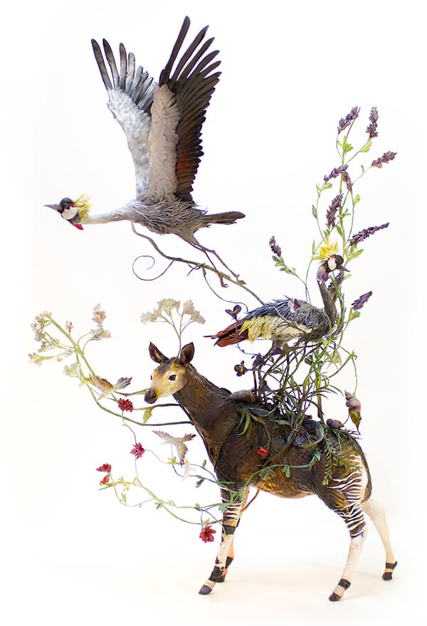Half Animal Half Plant: Surrealist Sculptures by Ellen Jewett
