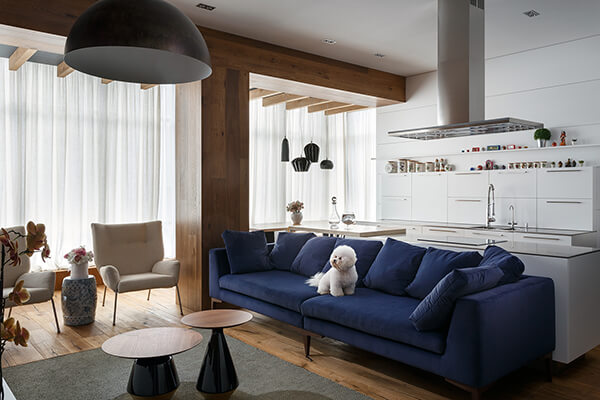 Creative and Playful Apartment For Artist in Ukraine