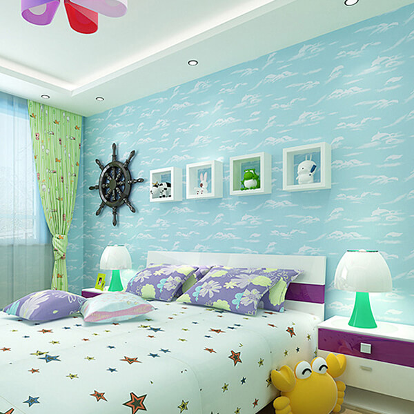 Use Childen S Room Wallpaper To Add Oodles Of Character: 27 Cute Kid's Room Wallpaper Ideas