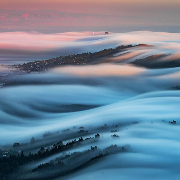 Fog Waves: One of the Most Unusual Scenes I have even Seen