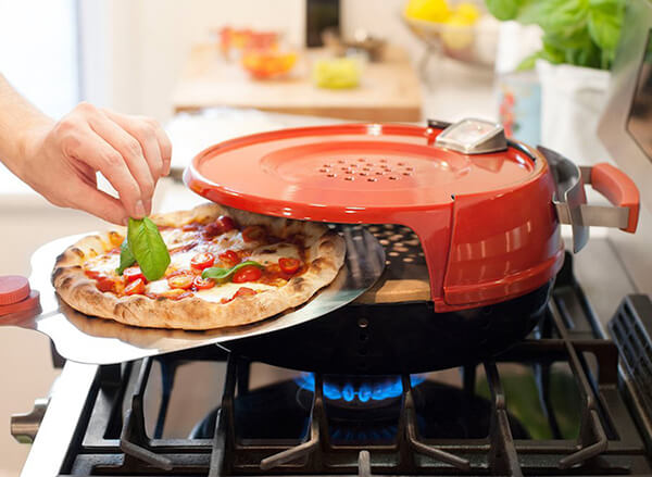 Pizzeria Pronto + Gas Stove = a Perfect Personal-sized Pizza in Twenty Minutes