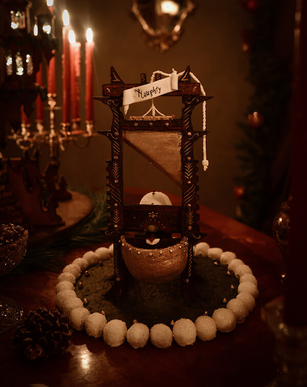 5-Foot-Tall Totally Edible Gingerbread Castle