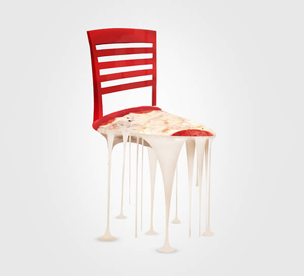 Delicious Chair: Creative Chair Concept Use Food as Inspiration