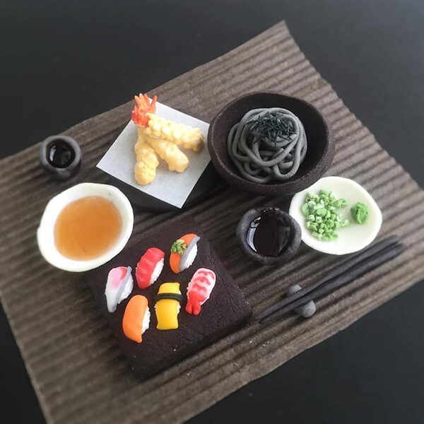 Incredible Cookies Look Like Full Japanese Meal