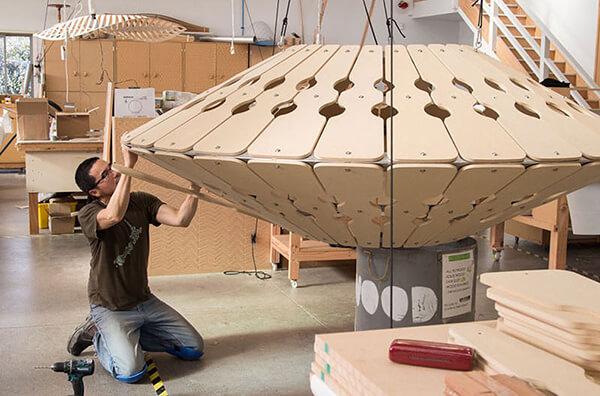 Sculptural Lights Have Been Added to Redwoods TreeWalk in New Zealand
