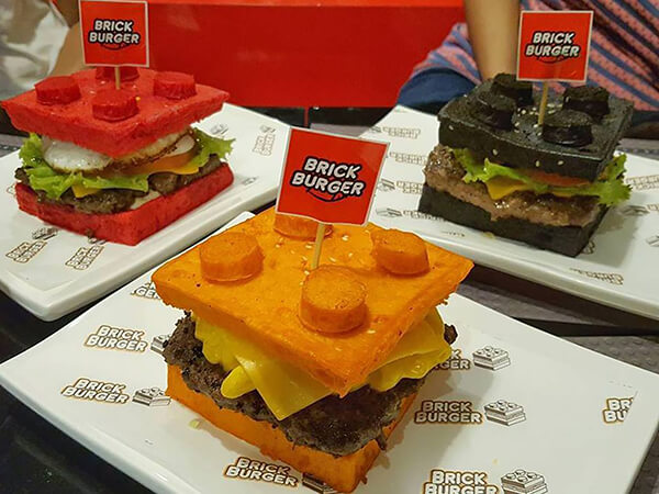 Lego Fan Opens Lego Burger Restaurant in Philippines
