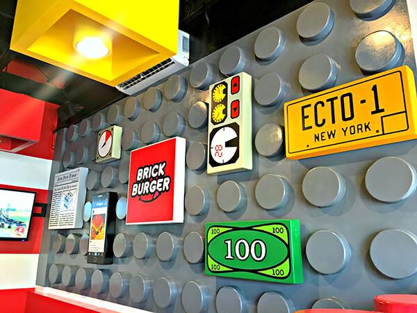 Lego Fan Opens Lego Burger Restaurant in Philippines