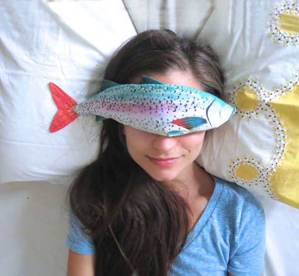 Fish Eye Pillow? Maybe One of the Most Weird Valentine Gift
