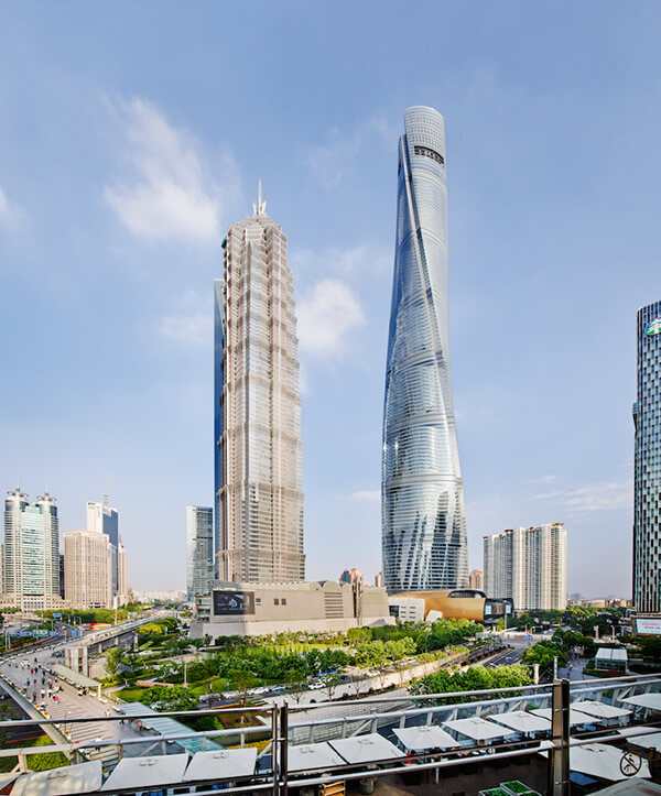 Shanghai Tower: the China's Tallest Building