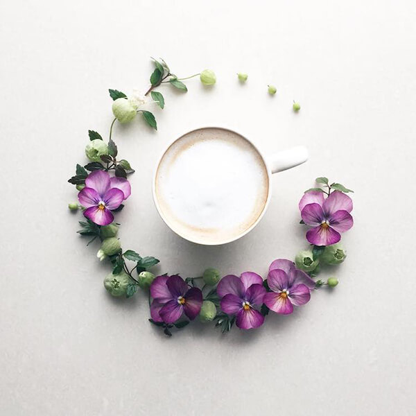 Visual Diary: Flower and Coffee