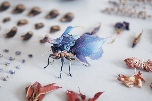 Imaginative Insects from Another World by Hiroshi Shinno