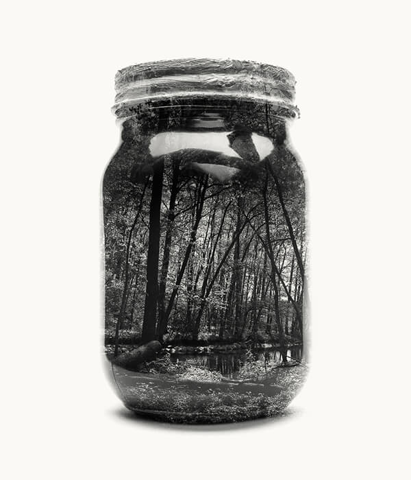 Jarred & Displaced: Ongoing Project Captures Beautiful Landscape in Jar