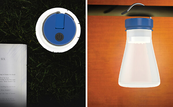 Beacon: Salt Water Powered Lighting