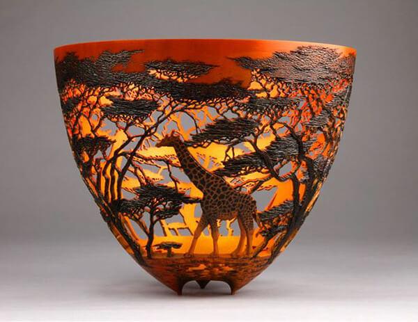 Stunning Nature-inspired Wood Artwork by Gordon Pembridge