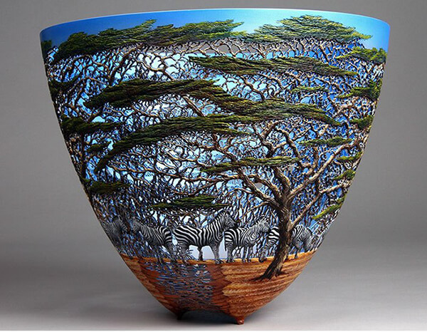 Stunning Nature-inspired Wood Artwork by Gordon Pembridge