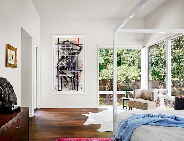 Contemporary Residence for Art Collector