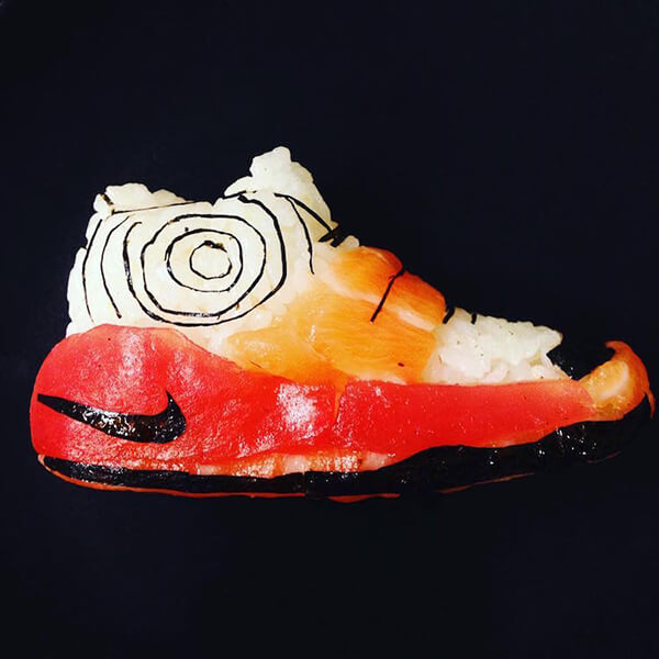 Sushi Shoes: Creative and Crazy Food Creation