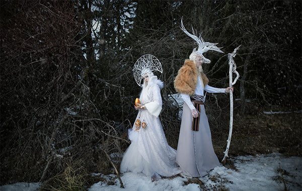 Breathtaking Scenes of 'Slavic Mythology' Tales by Serbian Photographer