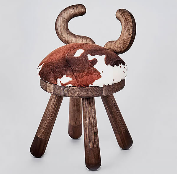 Farmyard Animals Inspired Kids's Stools