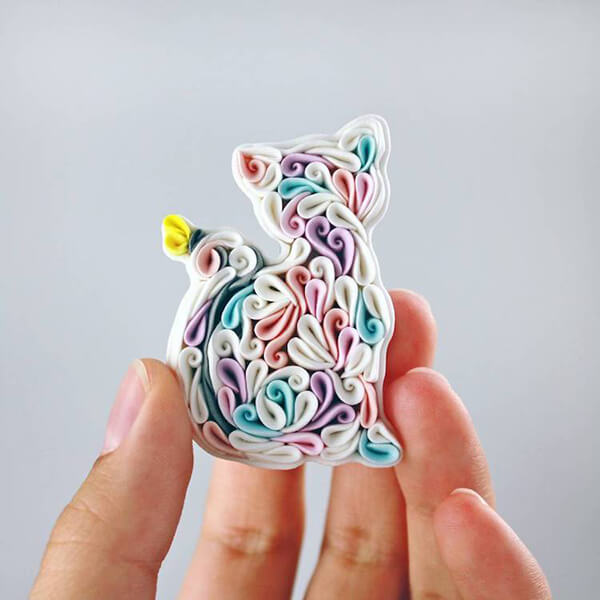 Colorful and Adorable Jewelry Made of Polymer Clay