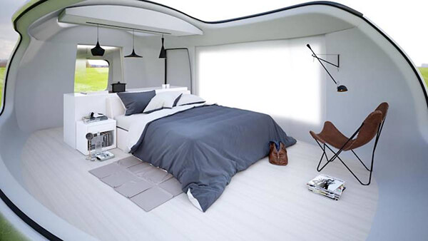 Futuristic and Luxurious Camping Pod Influenced by MINI's F60 Countryman