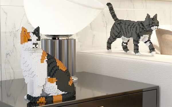 LEGO Cat For People Who Love Cats and LEGO