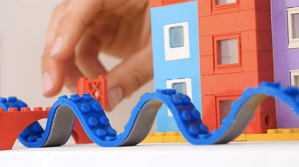 LEGO Tape: Build Your LEGOs on Any Surface