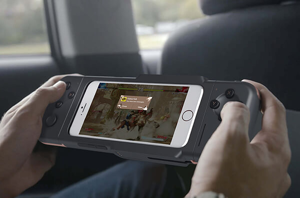 A Fully Portable and Ergonomic Mobile Gamepad Concept