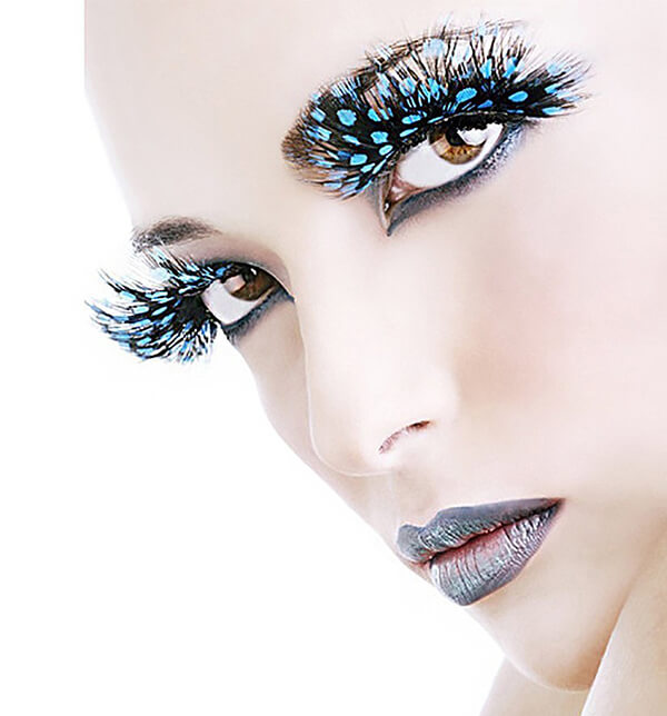 Crazy Decorative Eyelash Designs