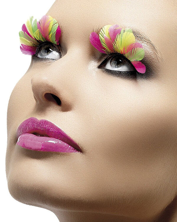 Crazy Decorative Eyelash Designs