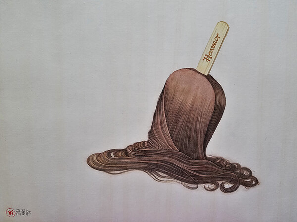 Hair Object: Surreal and Unsettling Drawings of Hair