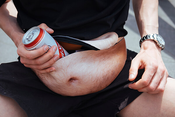 Dadbag: a Little Creepy Bumbag with Dad Belly