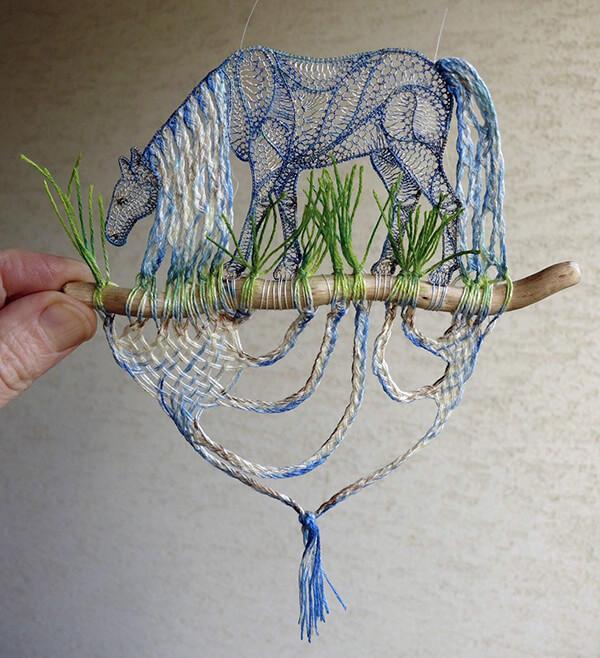 Delicate Lace Sculptures by Ágnes Herczeg