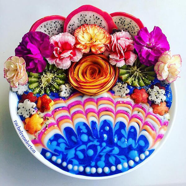 Rainbow Smoothie Bowls Bring a Tie Dyed Twist to Healthy Eating