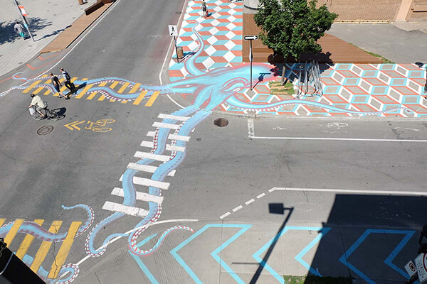 Can Street be Canvas? Yes, Artist Roadsworth Says