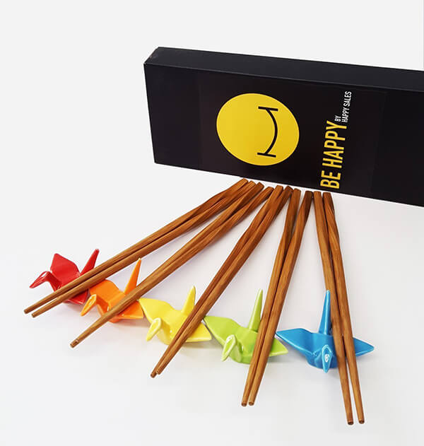 8 Cool and Playful Chopsticks Rest Designs